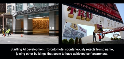 Toronto hotel AI