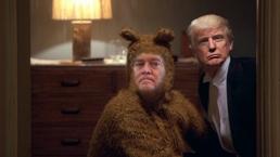 Trump shining